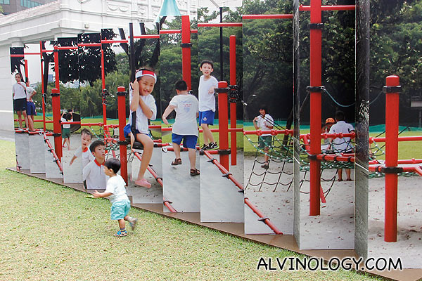 The playground in Singapore today which Asher is familiar with
