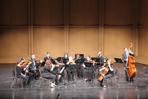 8:14 PM: The Lander University Chamber String Ensemble in concert