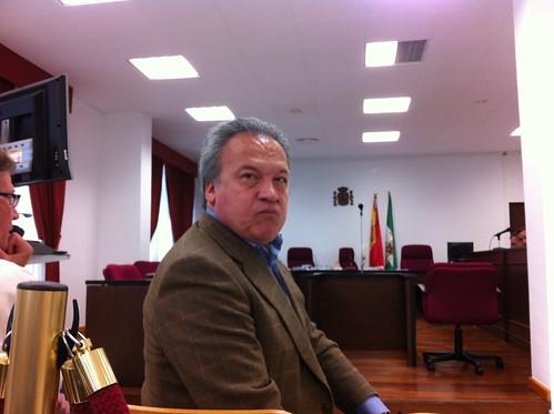 Pedro Pacheco en el juicio de los asesores