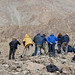 Naturetrek group searching for Snow Leopards! (Russell Scott)