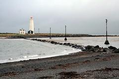 Grótta lighthouse in Reykjavík