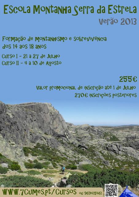 poster escola montanha