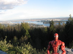 Spider-Man at the High View Lookout