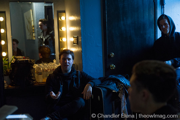The Neighbourhood Interview @ The Fillmore 4/11/2013