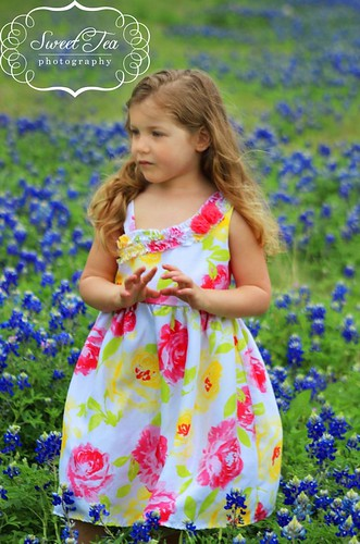 Bluebonnet Photos of the Girls