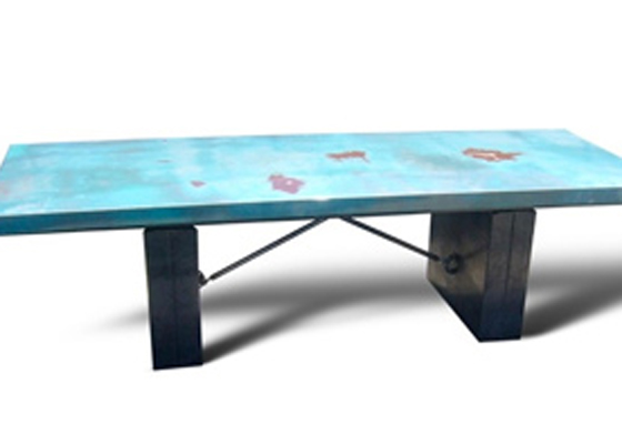 Recycled car part furniture eco chick for Recycled car parts furniture