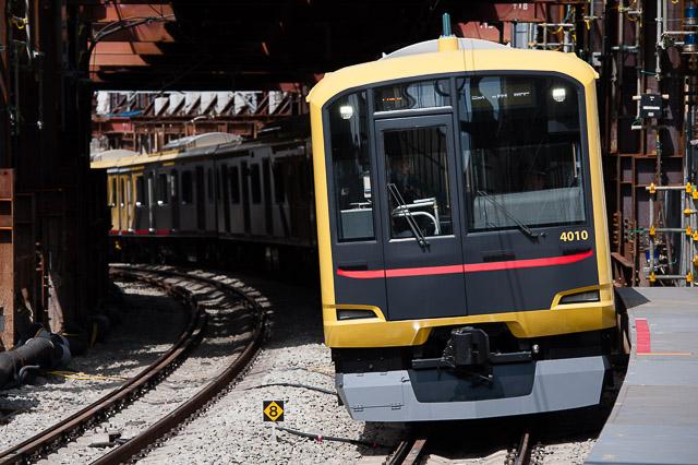 東急電鉄5050系4000番台 4110F Shibuya Hikarie号 東横線試運転