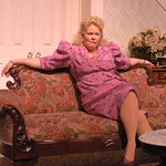 Dividing the Estate Pictured: Sharon Kay White Photo P. Switzer - Pictured: Sharon Kay White (Mary Jo) Photo by P. Switzer Photography  Dividing the Estate, a sardonic comedy by Pulitzer Prize winner author, Horton Foote   Once a family of comfortable wealth, the Gordon's now find themselves facing a looming financial crisis. The only asset left is the family's Texas…