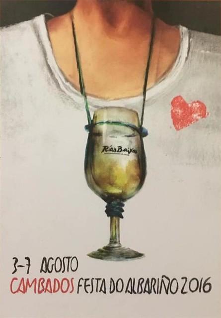 Cambados 2016 - Festa do Albariño - cartel