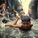 Fun in Monsoon rain and flood by Mio Cade