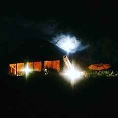 #vermont #night #moon #moonlight #house #weekend