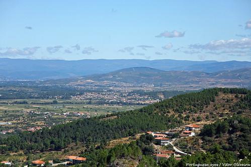 Vista do Miradouro de São Lourenço - Portugal