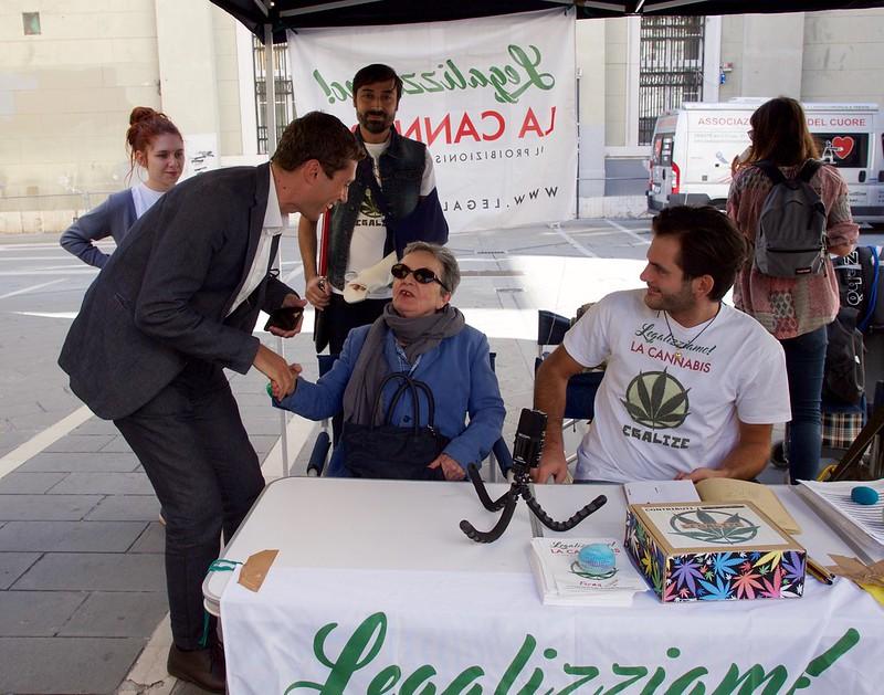 Riccardo Magi con Erminia De Felice