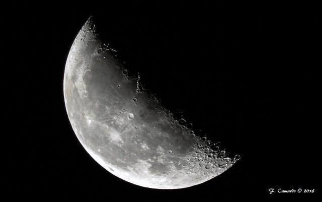 The Moon - Third Quarter Sept 24, 2016