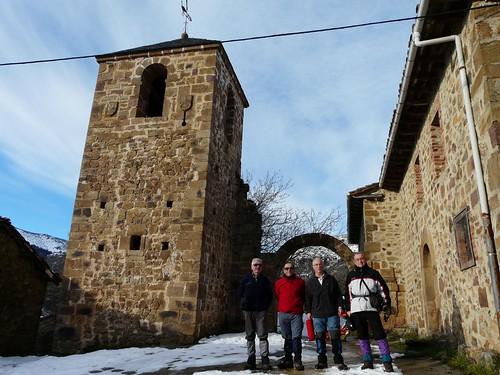 Los Rejos, Peña Corada, invierno, León
