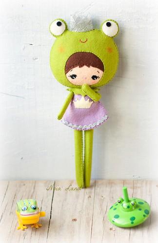 Ranita princesita