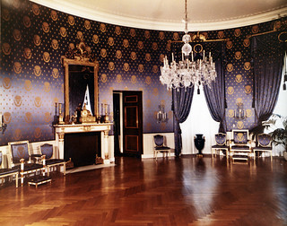Blue Room at the White House, Post-Renovation, 07/15/1952