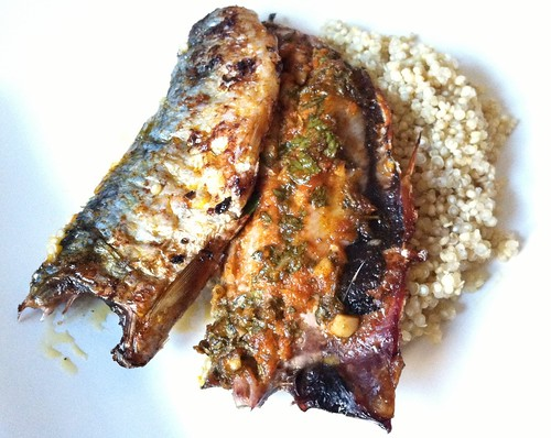Grilled Moroccan Sardines