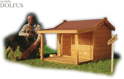 Caseta para perros aspectos a considerar al comprar una for Casetas de jardin grandes