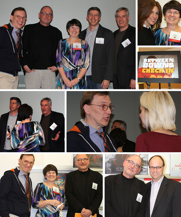 DC AD Club's Between Downs event photo collage