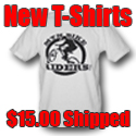 MtnBikeRiders.com White T Shirt