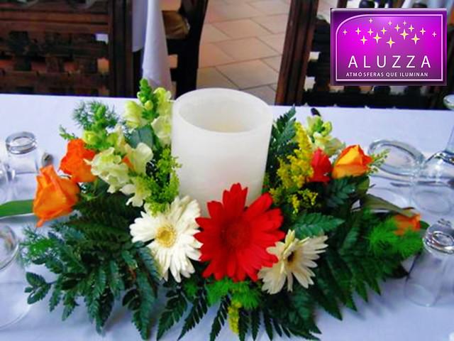 pantalla de cera cilindricas para decoracion de eventos aluzza