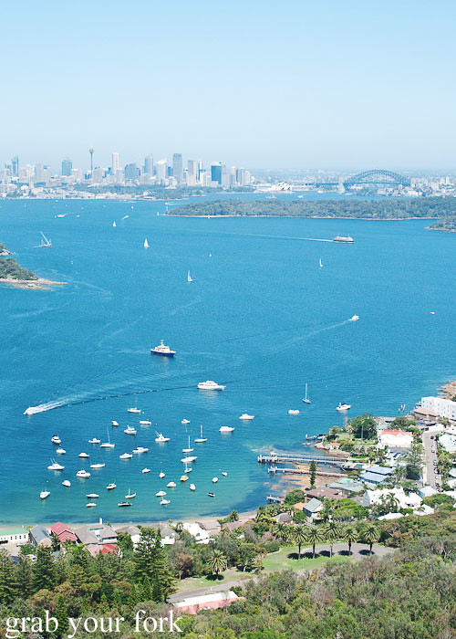 Bondi Helicopter flight aerial view over Sydney Harbour