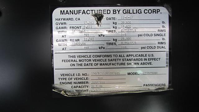 Ex-SCAT Bus 9727 - Gillig Phantom
