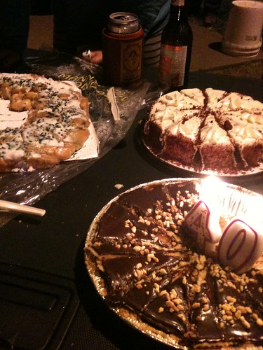 King Cake, Peanut Butter Pie, and Red Velvet Cake by seanclaes