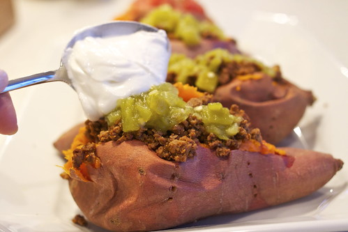 Southwest Loaded Sweet Potato