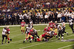 Ray Rice Run During Super Bowl XLVII