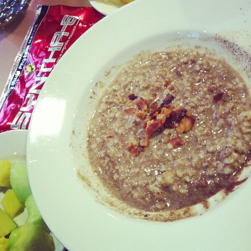 Caffinated Protein Oatmeal