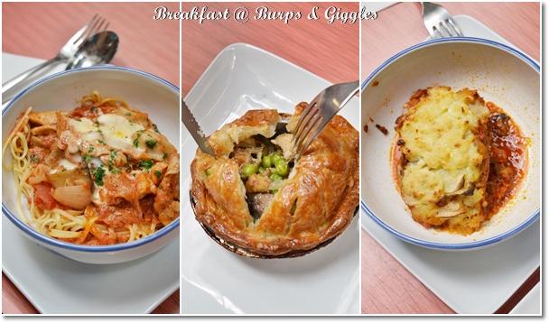 Breakfast @ Burps & Giggles