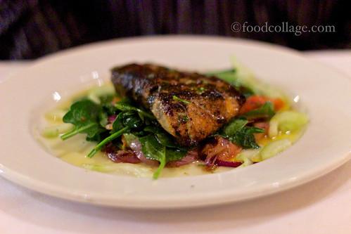 Grilled Gulf Fish Panzanella