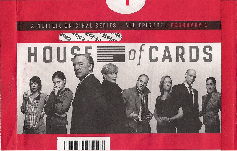 Scan - Netflix's House Of Cards Mailer