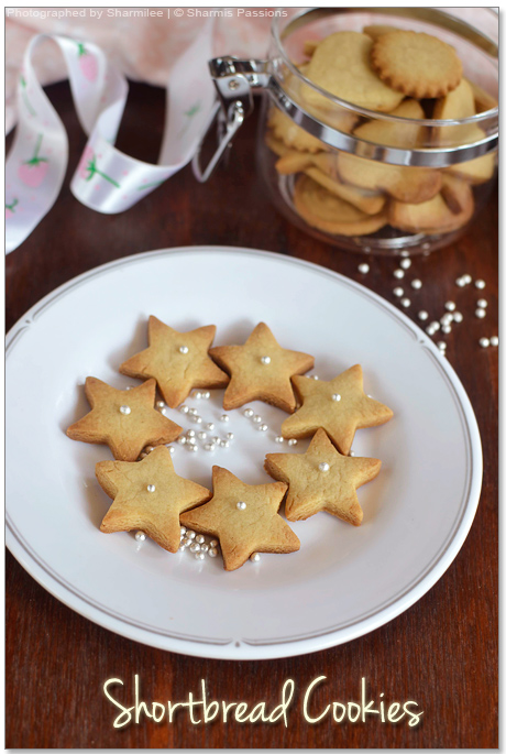Shortbread Cookies Recipe