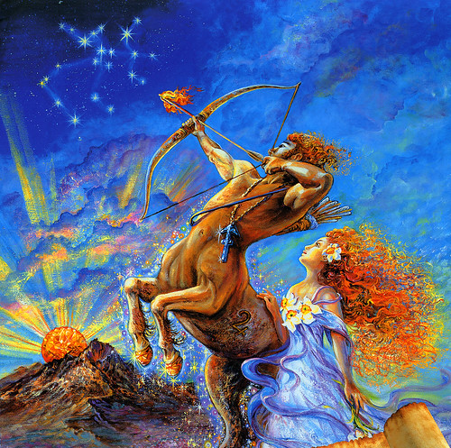 004-Sagitario-Calendario 2009-Josephine Wall-via www.dana-mad.ru