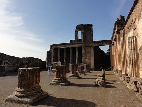 Roman Basilica in Pompeii
