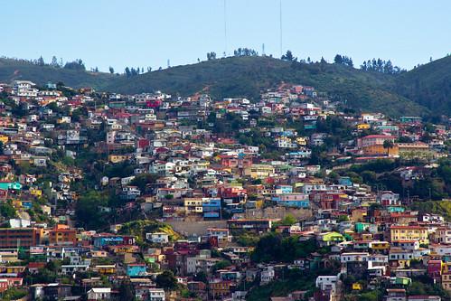 Valparaíso desde el Cerro Barón