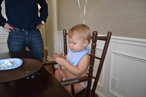 Bennett's 1st Birthday! - 30