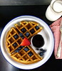 Thumbnail image for Waffle Wednesday: Buttermilk-Oat Waffles