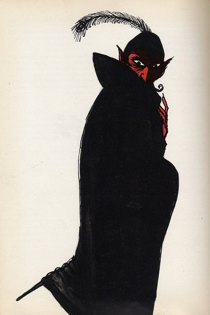 Miroslav Váša - Illustrations from The Bugaboos Or Little Natural History Of The Spooks, Ghosts And Phantoms, 1961 (21)