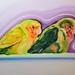 呂浩元‧王哥柳哥-4‧油彩、畫布‧ 91x72.5cm‧2012