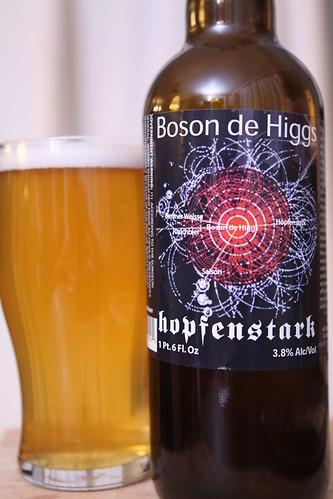Hopfenstark Boson de Higgs