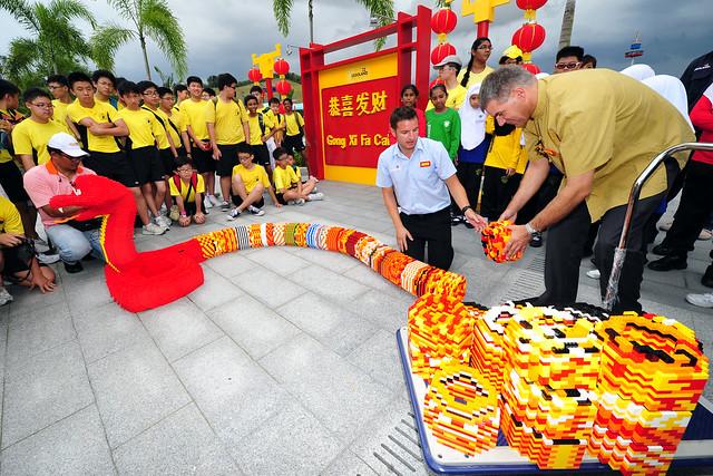 LEGOLAND Malaysia World's Longest LEGO Snake (15)