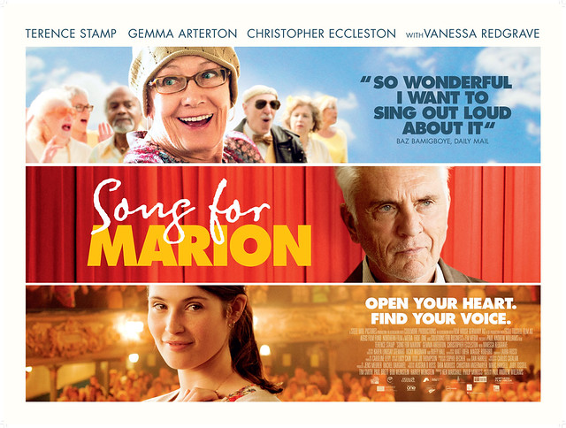 Vanessa Redgrave, Terence Stamp and Gemma Arterton in Song for Marion © The Weinstein Company 2012