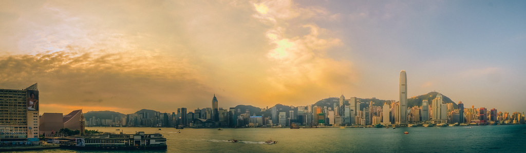 Kowloon Morning Pano