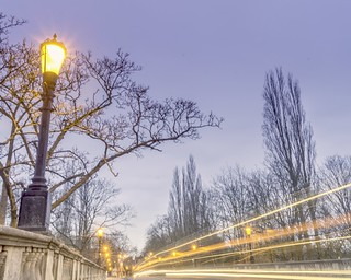 High Street Bridge at dawn - Oxford オックスフォード