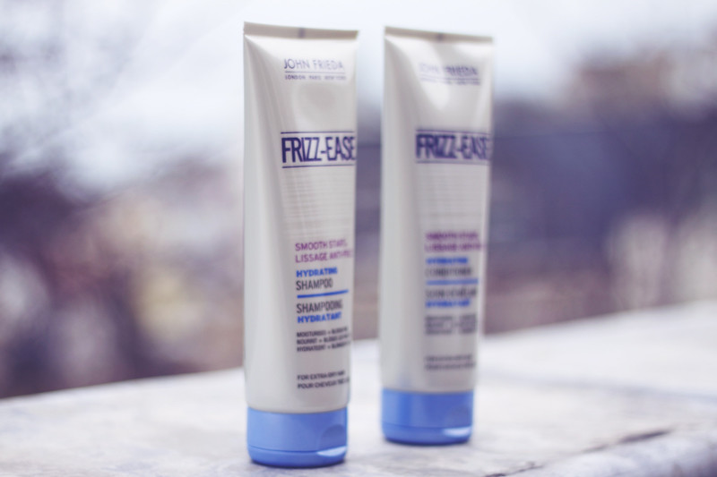 John Frieda Frizz-Ease Smooth Start Shampoo and Conditioner