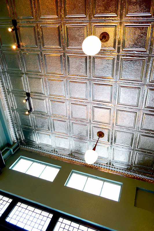 Tin Tiled Ceiling